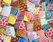 Mosaic Tiles---HAPPY MIX---100 Tiles--Perfect for your mosaic projects