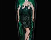 Envy bespoke training corset waspie corded custom made to measure steel boned