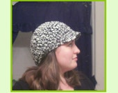 Customize your own Comfortable Crochet Hat with visor