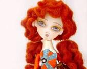 I Miss You Already Handmade Clothes Pin Art Doll
