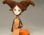 Candy Please Halloween Pin Doll