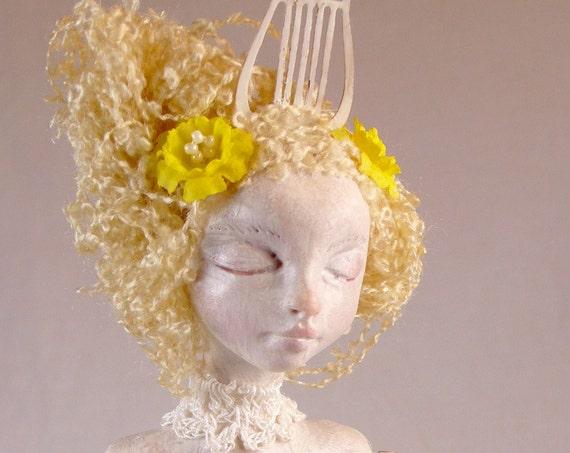 Ooak Art Doll - New Muse Original Handmade Sculpture