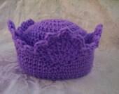 Crochet Baby, Crochet Patterns, Crochet Prince or Princess Crown Hats Crochet Pattern for babies to adults pdf 173