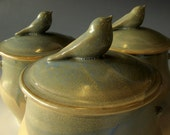 ON SALE Bird Canister set of 3