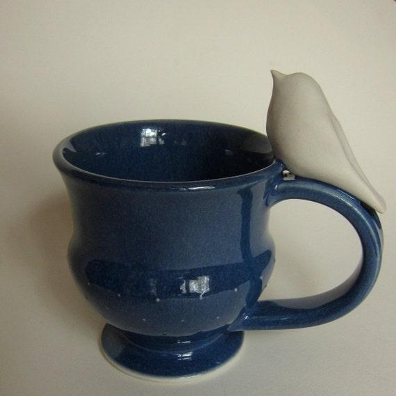 Birdie Sings For Tea bird teacup