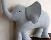 Cashmere Elephant - Baby Blue - Eco Friendly Kids