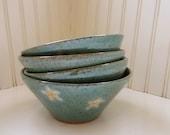 Custom Order for Lesli25 - Daisy Bowls - Set of 6