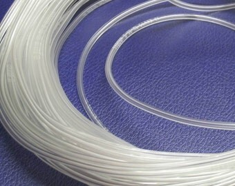 Clear Vinyl Tubing for Lining Lampwork Beads - 10 Ft.