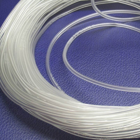 Clear Vinyl Tubing for Lining Lampwork Beads - 5 Ft.