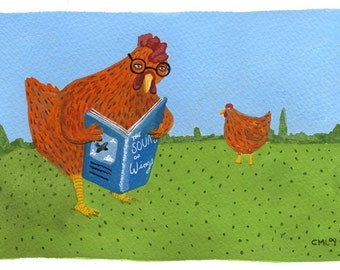 Reading Chicken