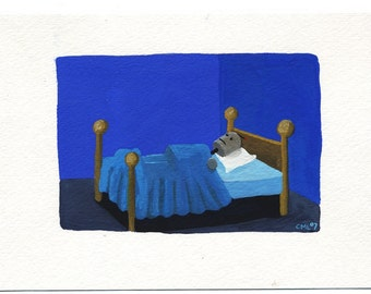 Robot in Bed