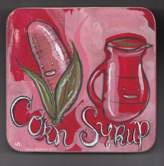 Corn/Syrup Original Two-Tone Painting