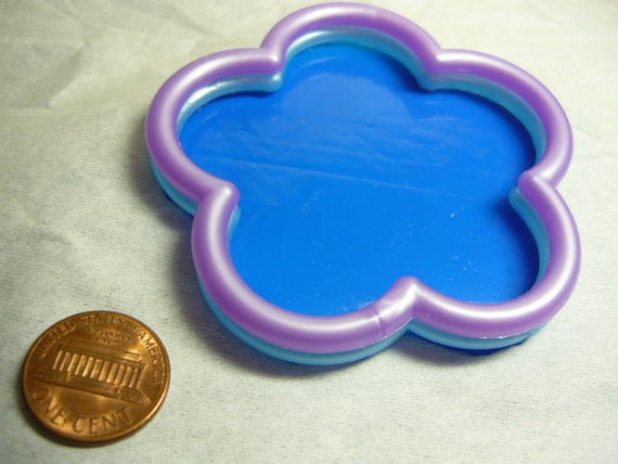 Swimming Pool Flower Shaped Wading Pool Sand Box Dollhouse Miniature Doll House Mini 1/12