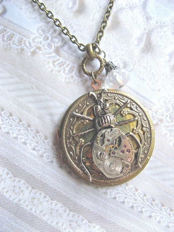 Once Upon A Time Beetle Locket
