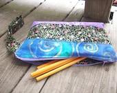 Fairy Flowers Zipper Pencil Bag