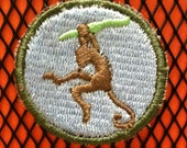 Science Scouts Badge - dodger of monkey shit