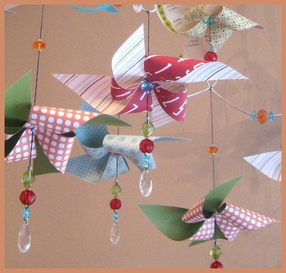 Pinwheel Mobile By Fischtaledesigns On Etsy