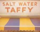 Salt Water Taffy - 8x10 Print - Summer Vacation, Boardwalk, Pier, Candy, Atlantic City, Jersey Shore