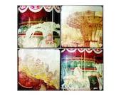 Carnivale art - Fair art  -  Fair photography -  Fine art photography - A set of 5x5 prints - Ttv