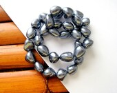 Gray Mother of Pearl Nugget Beads