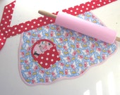 Cupcake PUPPY DOG TAILS Vintage Inspired Child's Apron