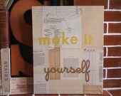 Make it Yourself craft by hand collage