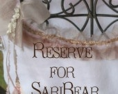 reserve for saribear