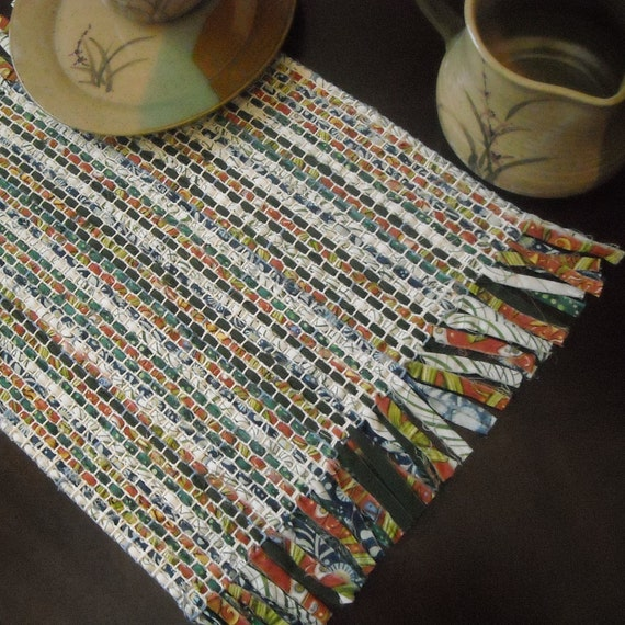 Rustic Hand Woven Placemats Set Of 4