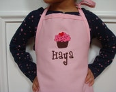 Personalized Pretend Play Cupcake Apron Great Christmas Gift
