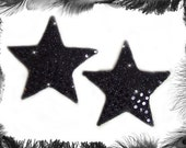 Sequin Star Nipple Pasties, Burlesque wear, 3 Sizes and 7 Colours available