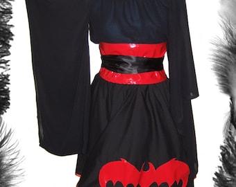 SALE PVC Obi Belt, Gothic, Lolita, Geisha. In many colours.