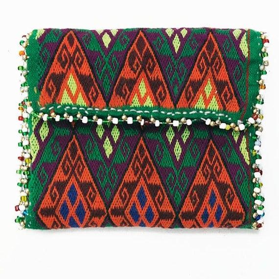 Afghanistan: Vintage Embroidered Hazara Wallet or Pouch, Item 5