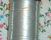 Metallic Thread  -  Japanese Obi Thread - Embellishment  - Embroider - Sew - Flat - Silver - Wide - 40 Yards