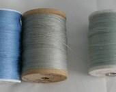 Thread - Hemp - Vintage Kimono  - Embroider - Embellish - Decorate -  Sky Blue