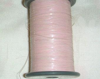 Vintage Kimono Metallic Thread - Pink Irridescent - Embroider - Embellish - Decorate - 40 Yards