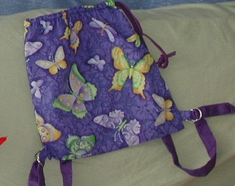 Butterfly Soft Pack -  Day Pack - Adventure Pack - Kids - Teens -  Women