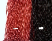 3 black Ball Chain necklace 24 inches 2.4mm