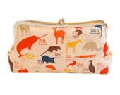 Obscure animals clutch purse