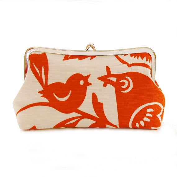 Mother and baby clutch purse
