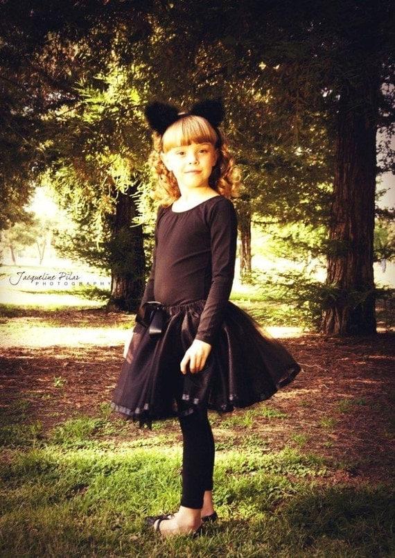 Hand Sewn... Black Ballett tutu skirt in Newborn toddler and teen girls