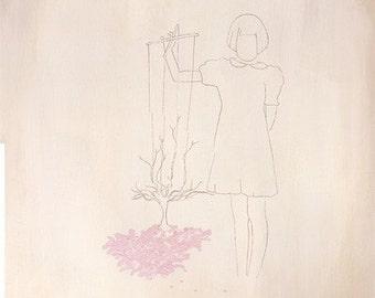 Growing Spring (original painting)