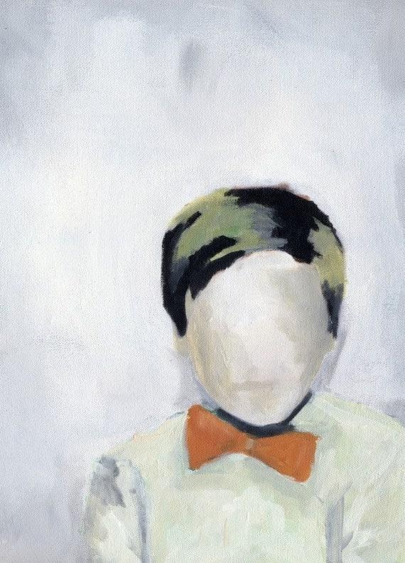 The Boy With the Orange Bow Tie