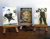 ACEO Photo Prints - Graffiti Street Art - Set of 3 Mounted ACEOs