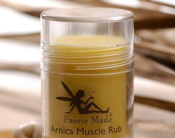 Faerie Made Natural Arnica Muscle Rub