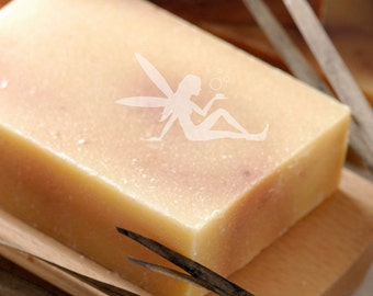Ginger Grass and Silk Natural Handmade Coconut MIlk Soap