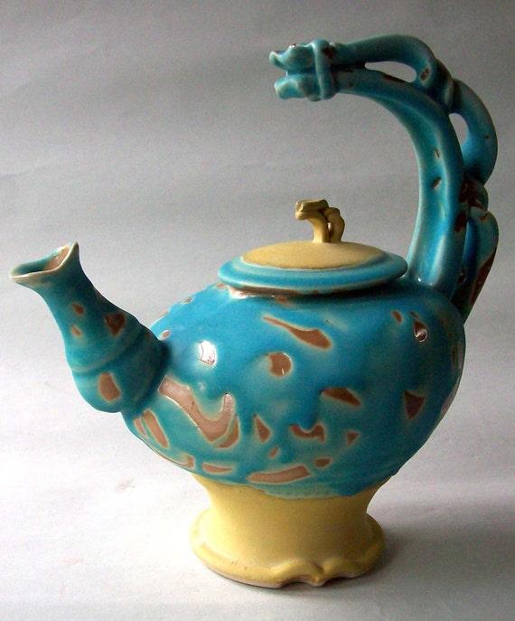 Reserve for June S: Blue Teapot (Deposit)