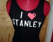 I Love Stanley Hockey Tank Top