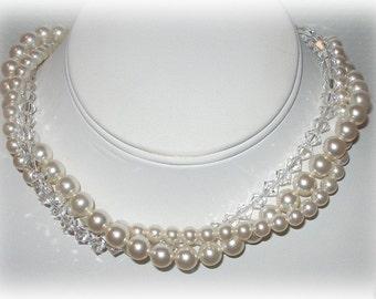 Bridal Wrap Necklace