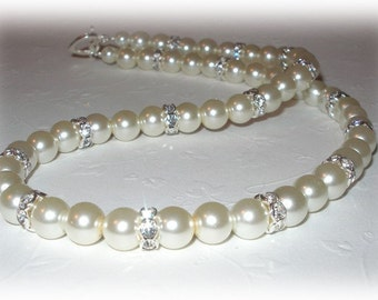 Jacqueline Necklace in Ivory