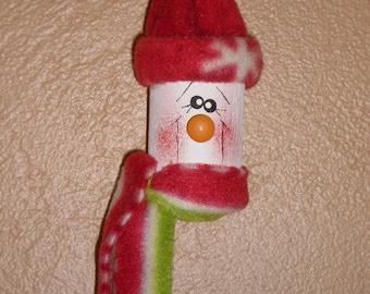 Snowman Spool Ornament Christmas Tree Ornie